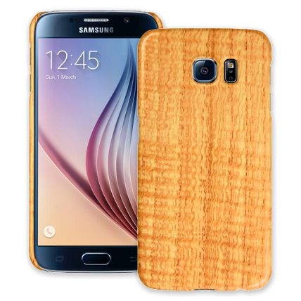 Fiddleback Chestnut Samsung Galaxy S6 ColorStrong Slim-Pro Case