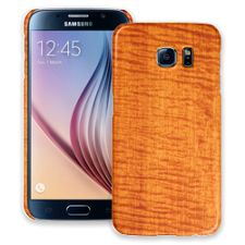 Fiddleback Makore Samsung Galaxy S6 ColorStrong Slim-Pro Case