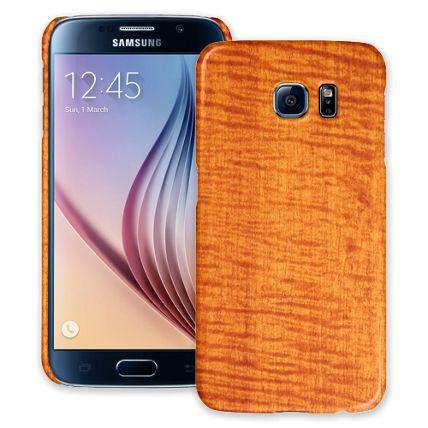 Fiddleback Makore Samsung Galaxy S6 ColorStrong Slim-Pro Case