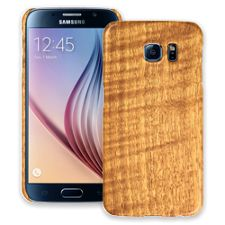 Figured Walnut Samsung Galaxy S6 ColorStrong Slim-Pro Case
