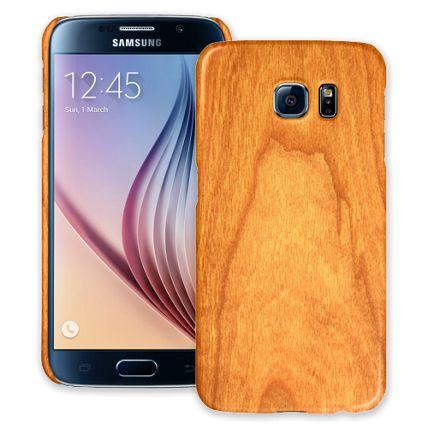 Flat Cut Cherry Samsung Galaxy S6 ColorStrong Slim-Pro Case