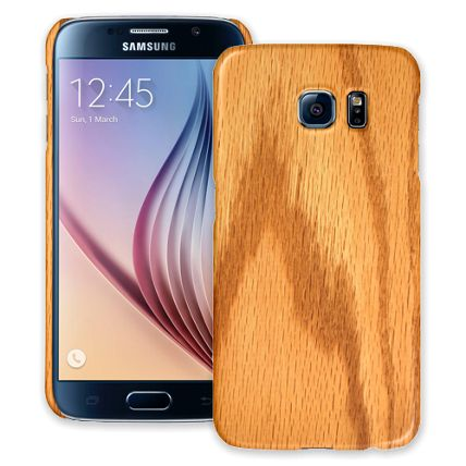 Red Oak Samsung Galaxy S6 ColorStrong Slim-Pro Case