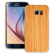 Rift Sawn Red Oak Samsung Galaxy S6 ColorStrong Slim-Pro Case