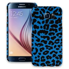 Blue Leopard Samsung Galaxy S6 ColorStrong Slim-Pro Case