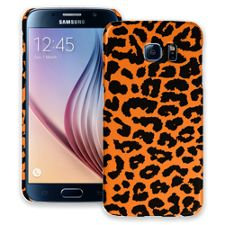 Orange Leopard Samsung Galaxy S6 ColorStrong Slim-Pro Case
