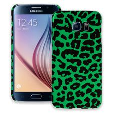 Green Leopard Samsung Galaxy S6 ColorStrong Slim-Pro Case
