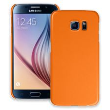 Orange Samsung Galaxy S6 ColorStrong Slim-Pro Case