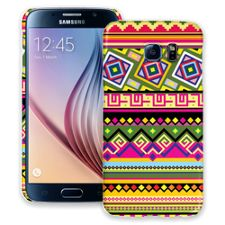 Happy Bright Tribal Samsung Galaxy S6 ColorStrong Slim-Pro Case