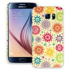 Tribal Sun Pattern Samsung Galaxy S6 ColorStrong Slim-Pro Case