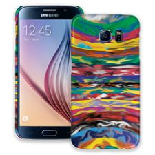 Psychedelic Paint Swirls Samsung Galaxy S6 ColorStrong Slim-Pro Case