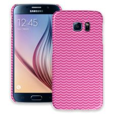Pink Waves Samsung Galaxy S6 ColorStrong Slim-Pro Case
