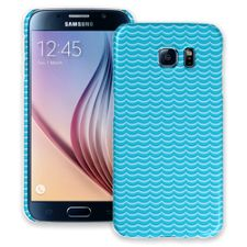 Blue Waves Samsung Galaxy S6 ColorStrong Slim-Pro Case