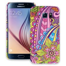 Kaleidoscope Samsung Galaxy S6 ColorStrong Slim-Pro Case