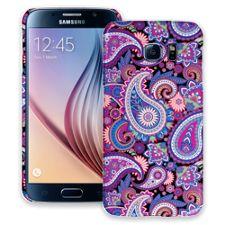 Brilliant Jewel Tone Paisley Samsung Galaxy S6 ColorStrong Slim-Pro Case