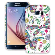 Butterflies and Dragonflies Samsung Galaxy S6 ColorStrong Slim-Pro Case