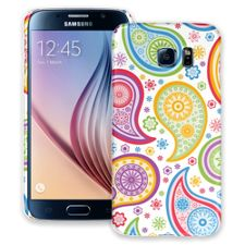 Rainbow Paisley Samsung Galaxy S6 ColorStrong Slim-Pro Case