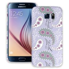 Sophisticated Lavender Paisley Samsung Galaxy S6 ColorStrong Slim-Pro Case
