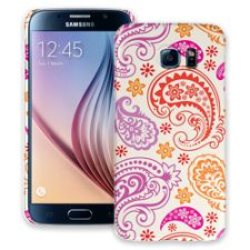 Purple and Pink Paisley Samsung Galaxy S6 ColorStrong Slim-Pro Case