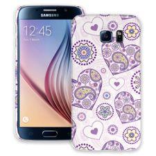 Purple Heart Paisley Samsung Galaxy S6 ColorStrong Slim-Pro Case