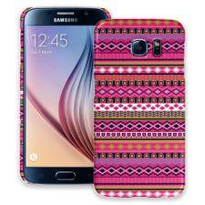 Pink Geometric Tribal Samsung Galaxy S6 ColorStrong Slim-Pro Case