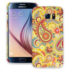 Sunshine Paisley Samsung Galaxy S6 ColorStrong Slim-Pro Case