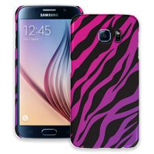 Pink and Purple Zebra Samsung Galaxy S6 ColorStrong Slim-Pro Case
