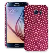 Berry & White Chevron Samsung Galaxy S6 ColorStrong Slim-Pro Case