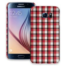 Picnic Blanket Plaid Samsung Galaxy S6 ColorStrong Slim-Pro Case