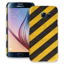 Caution Lines Samsung Galaxy S6 ColorStrong Slim-Pro Case