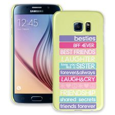 Besties 4Ever Samsung Galaxy S6 ColorStrong Slim-Pro Case