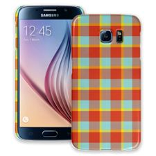Boyfriend Plaid Samsung Galaxy S6 ColorStrong Slim-Pro Case