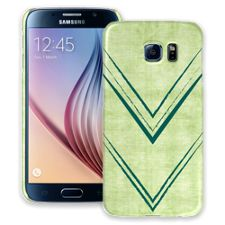 Green Arrowheads Samsung Galaxy S6 ColorStrong Slim-Pro Case