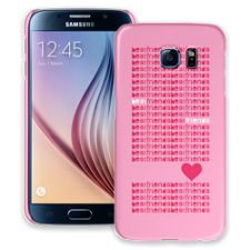 Best Friends & Hearts Samsung Galaxy S6 ColorStrong Slim-Pro Case