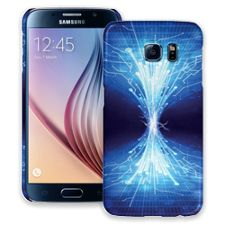Fiber Optics Samsung Galaxy S6 ColorStrong Slim-Pro Case