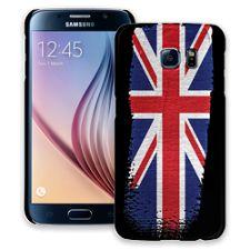 Brushstroke Union Jack Samsung Galaxy S6 ColorStrong Slim-Pro Case