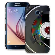 Two Turn Tables Samsung Galaxy S6 ColorStrong Slim-Pro Case
