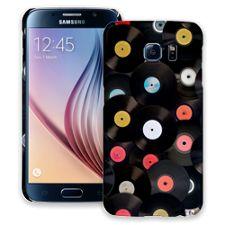 Vintage Vinyl Samsung Galaxy S6 ColorStrong Slim-Pro Case