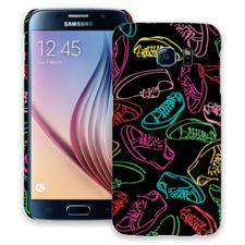 Neon Laces Samsung Galaxy S6 ColorStrong Slim-Pro Case