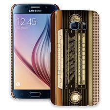 Retro Stereo Samsung Galaxy S6 ColorStrong Slim-Pro Case