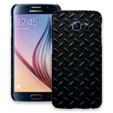 Black Diamond Plate Samsung Galaxy S6 ColorStrong Slim-Pro Case
