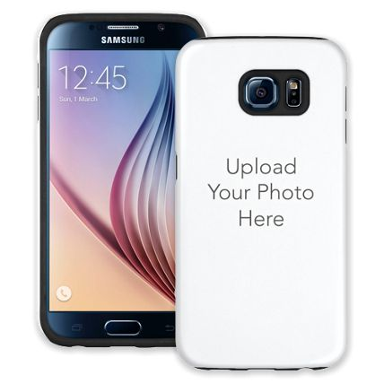 Design Your Own - 1 Photo Spot Samsung Galaxy S6 ColorStrong Cush-Pro Case