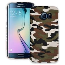 Woodland Camouflage Samsung Galaxy S6 Edge ColorStrong Slim-Pro