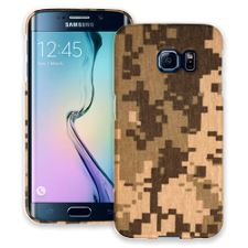 Digital Desert Camouflage Samsung Galaxy S6 Edge ColorStrong Slim-Pro