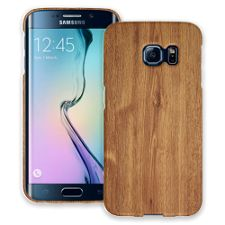 Brown Maple Samsung Galaxy S6 Edge ColorStrong Slim-Pro