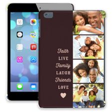 Chocolate Live Laugh Love iPad Mini ColorStrong Slim-Pro Case