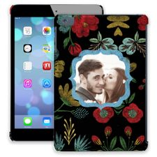 Bright Floral on Black iPad Mini ColorStrong Slim-Pro Case