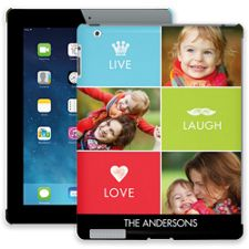 Bright Live Laugh Love iPad 2/3/4 ColorStrong Slim-Pro Case