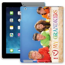 Grandkids and Crayons iPad 2/3/4 ColorStrong Slim-Pro Case