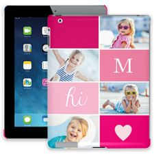 Strawberry Squares iPad 2/3/4 ColorStrong Slim-Pro Case