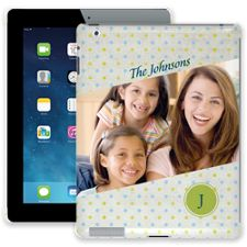 Polka Dot Muslin iPad 2/3/4 ColorStrong Slim-Pro Case